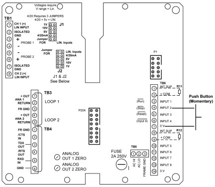 A2216 Rear Interconnect PCB.  See Chapter 7, page 2-A in the 620A manual for details.